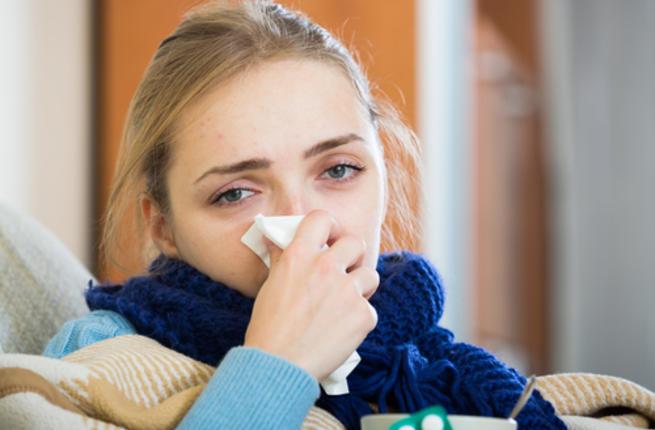 Нос закладывает ночью при беременности