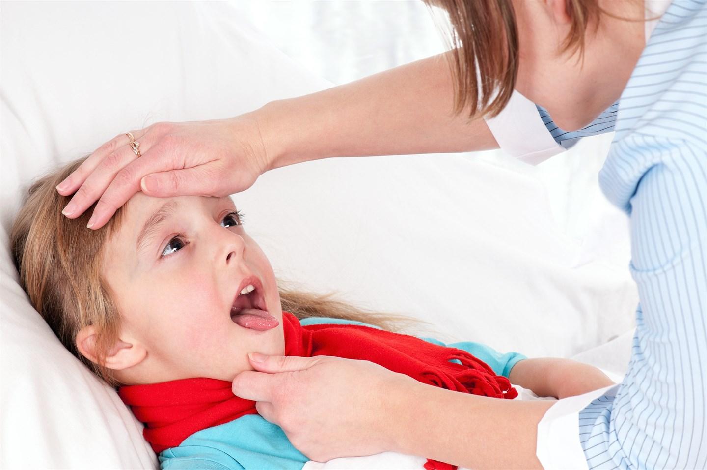 38 неделя беременности болит горло лечить