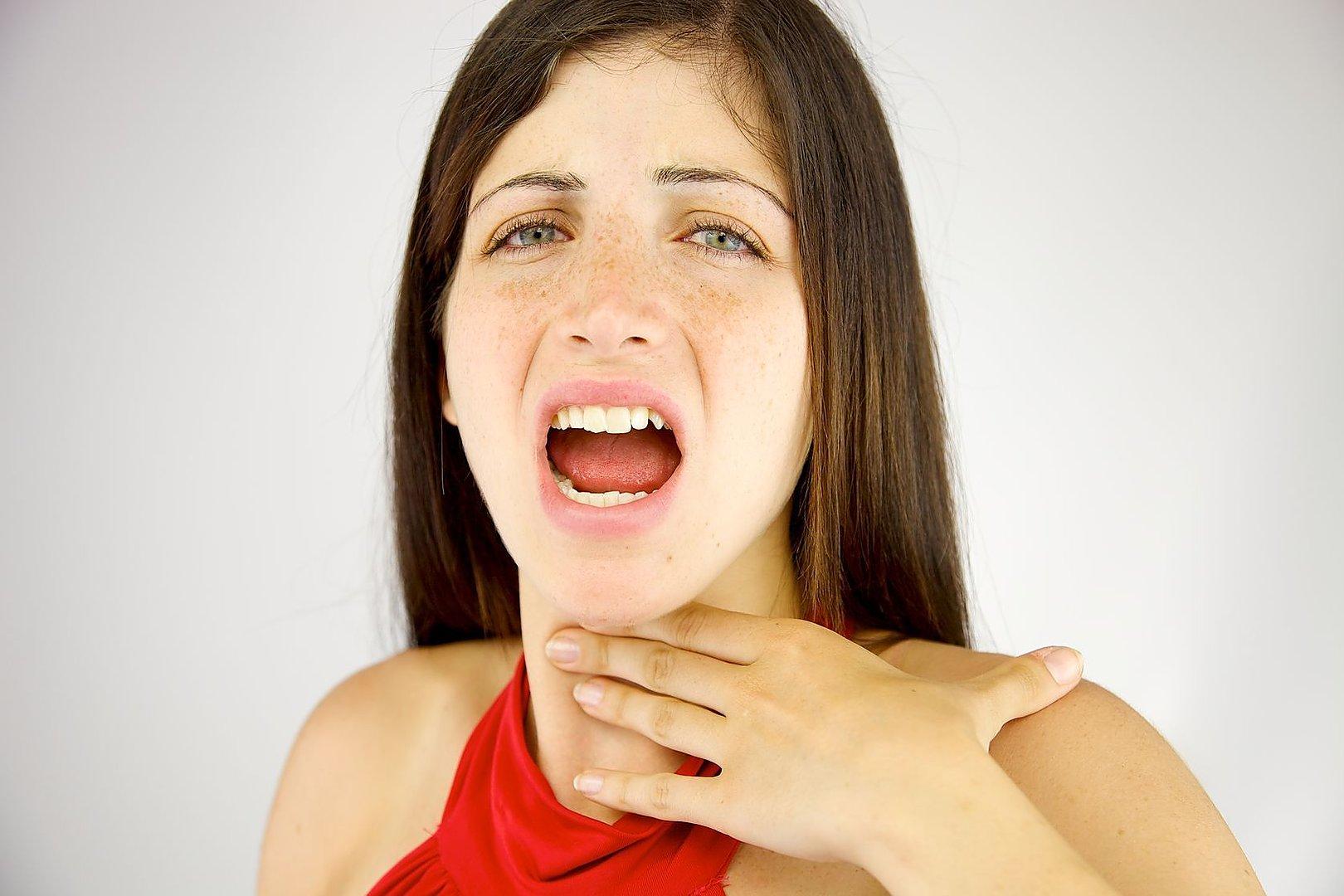 Fotos de garganta inflamada com pus 91