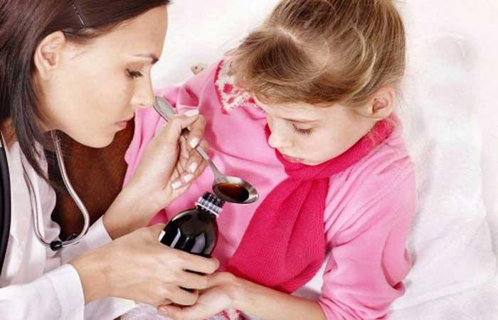 У ребенка ларингит сироп