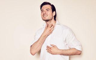 Першение в горле вызывает кашель: чем и как лечить?
