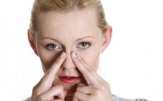 Когда закладывает нос без насморка: причины и лечение