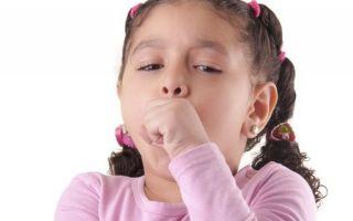 Лечение кашля при аденоидах у детей