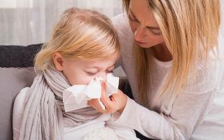 Зеленые сопли и температура у ребенка