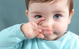 Капли в нос для детей до года: Список препаратов