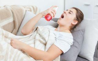 Спрей от ангины с антибиотиком — выбираем препарат правильно