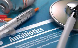 Антибиотики для лечения гнойной ангины у взрослых