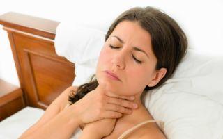 Правильное лечение горла при грудном вскармливании