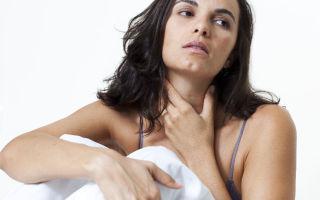 Причины появления в горле комка