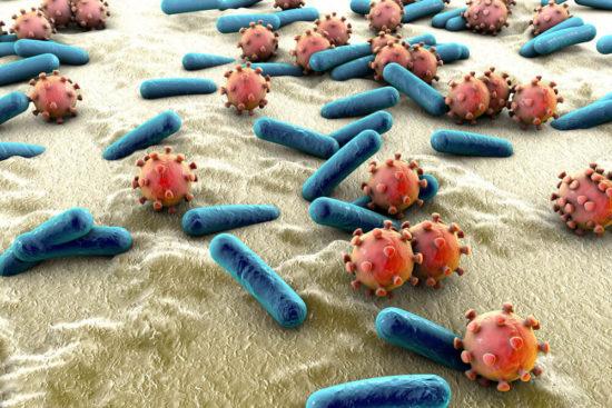Микробы на слизистой