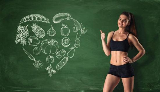 Правильное питание и регулярная физическая активность