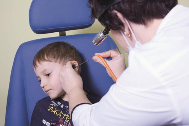 Лечение туботита у детей