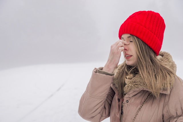 Заложенность носовых полостей при риносинусите
