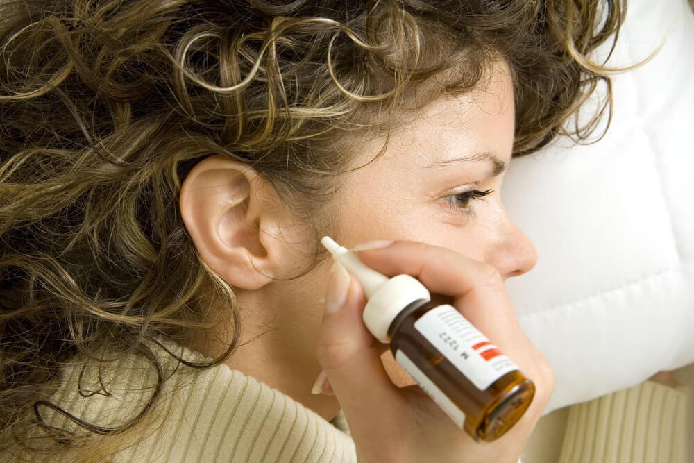 Как прогреть ухо борной кислотой