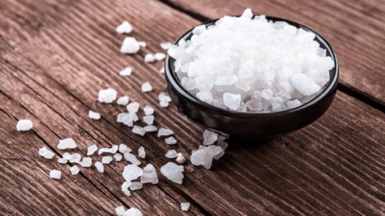 Лечение гайморита солью