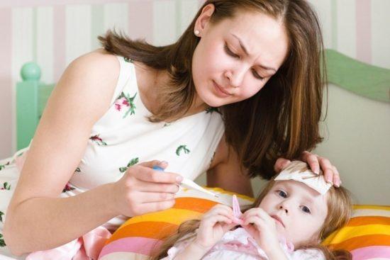 скарлатина у ребенка