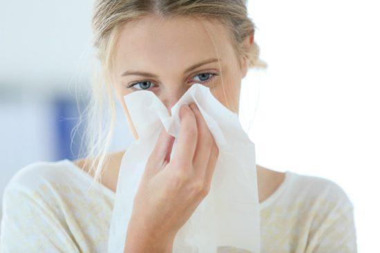 обработка носа и горла осенью и весной