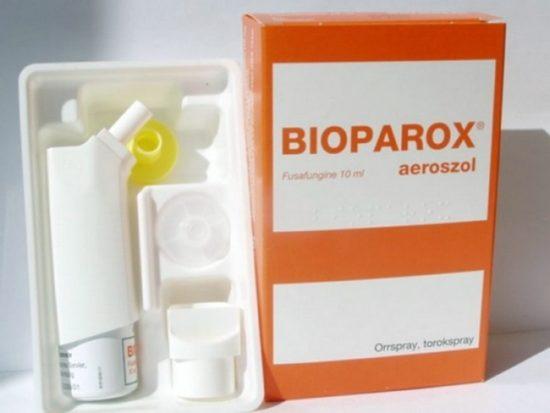 биопарокс для горла
