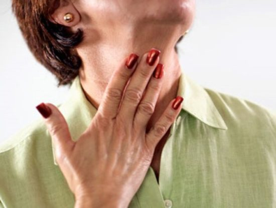 воспаление язычка в горле