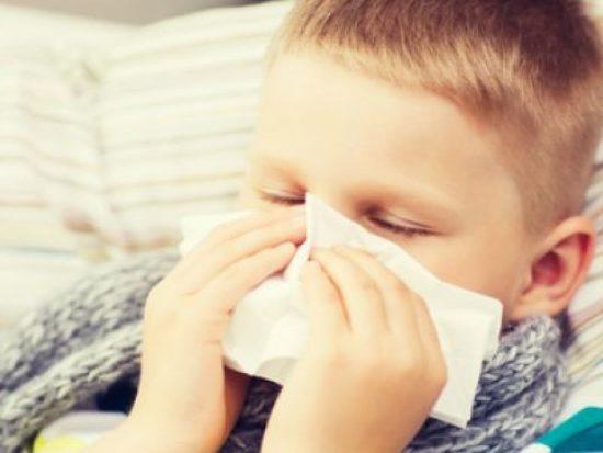 у ребенка заложен нос а соплей нет лечение