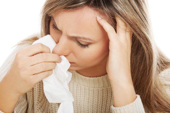 Солевой раствор при насморке