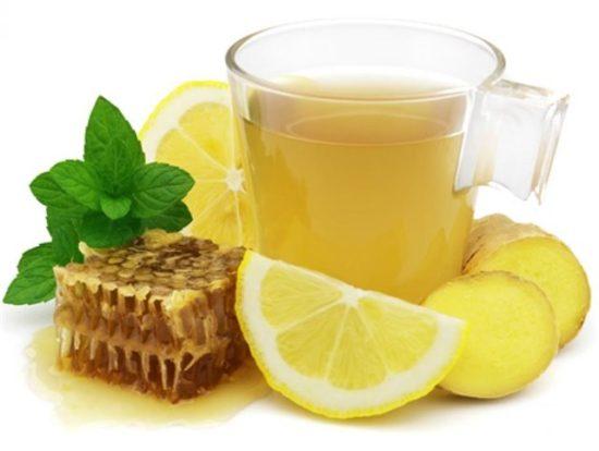 мед с водой для горла