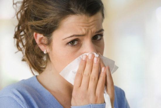 заложенность носа причины
