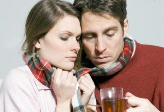 Чай для снижения боли в горле