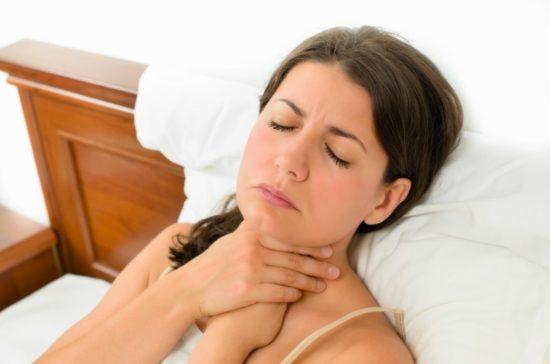 лечение горла при грудном вскармливании