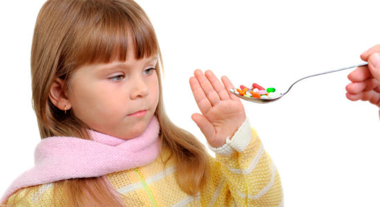 антибиотики детям