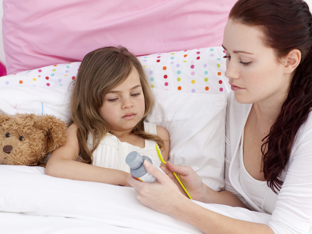 Лекарство от горла для детей до года