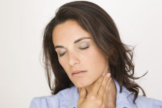 причина боли в горле