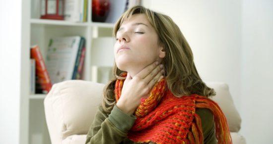 симптом воспаления дыхательных путей
