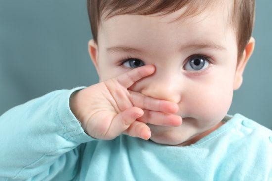 Затрудненное носовое дыхание у малышей