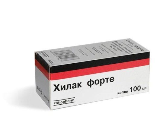 хилак при антибиотиках