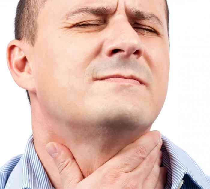Ком в горле - причины, как избавиться от ощущения кома в горле