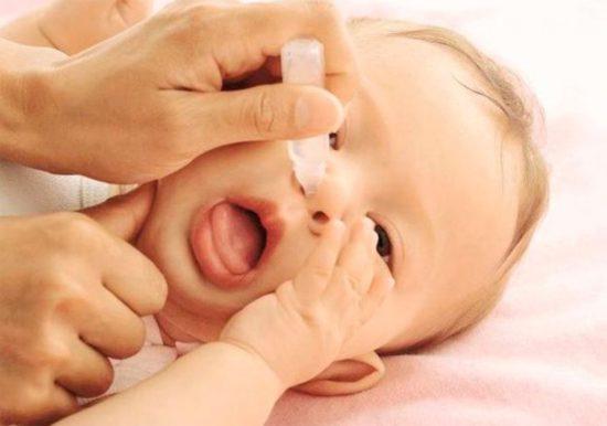 у ребенка заложен нос а соплей нет