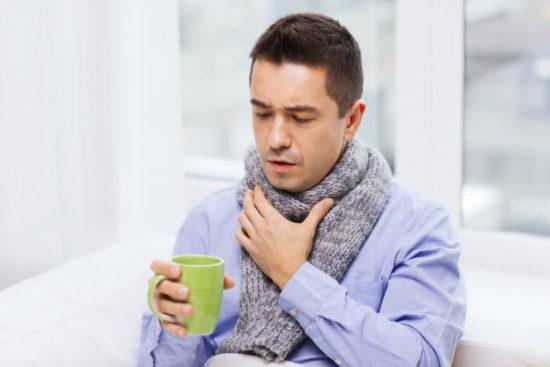 боль в горле у взрослых