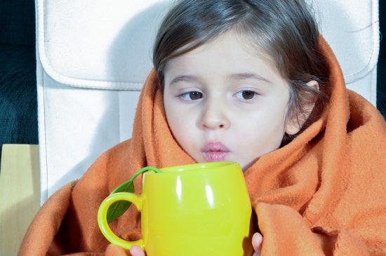 Лечение ребенка од ангины