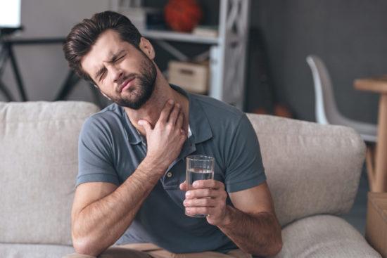 как избавиться от дискомфорта в горле