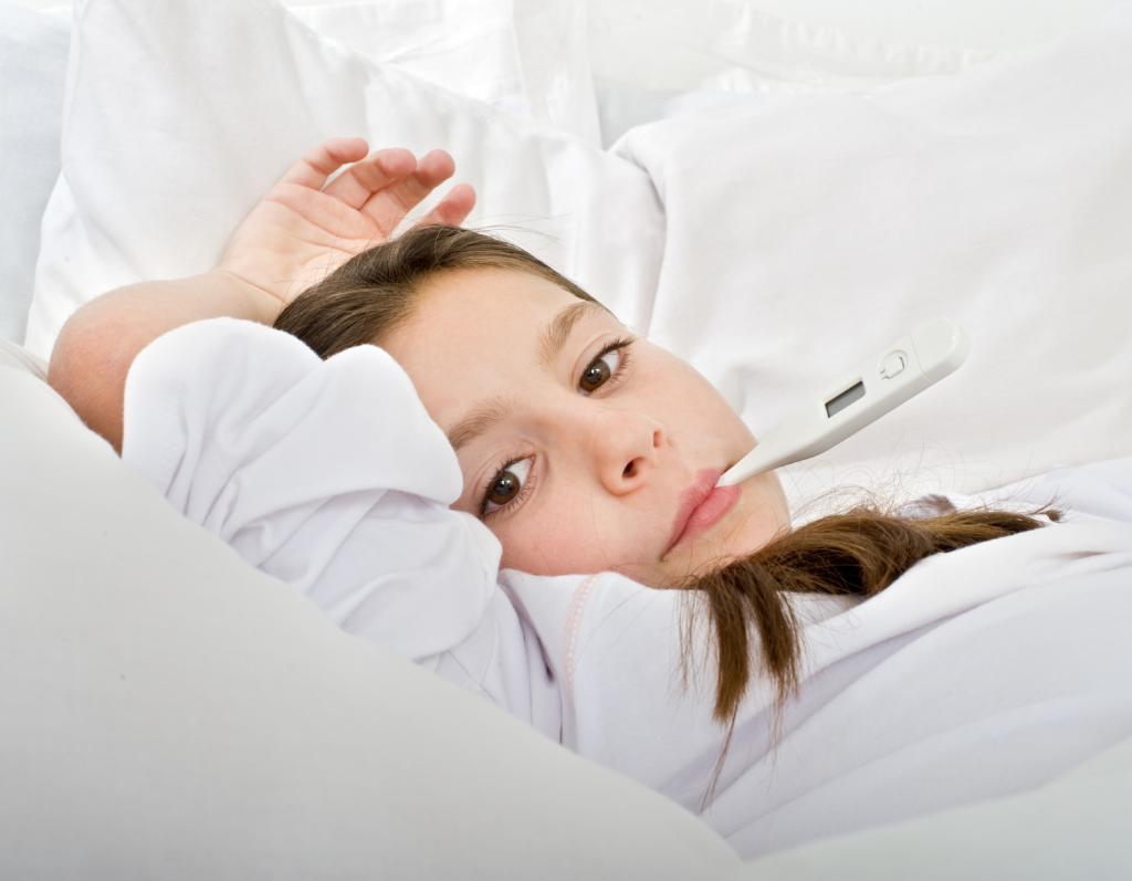 Долго болит горло без температуры