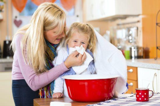 Промывание придаточных пазух носа