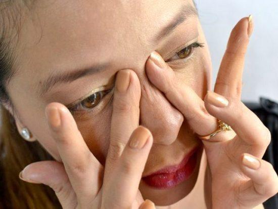 аллергия при заложенности носа